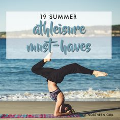 Athleisure is still all the rage - thank goodness! If you're looking to expand your summer athleisure wardrobe, here are some frugal picks that will make yo Gym Gear, Workout Gear, Workout Routines, Fitness Workouts, Zumba, Athleisure, Northern Girls, Workout Accessories, Yoga Wear