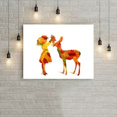Nursery digital printnursery digital by SimpleWordsByRoxana Digital Prints, Digital Art, Moose Art, Nursery, Unique Jewelry, Handmade Gifts, Painting, Animals, Etsy