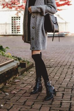 f46500e74 24 hours in Philly. Sock Boots OutfitKnee High ...