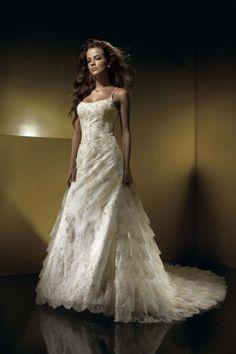 Classic fashion full lace making money gorgeous gorgeous wedding ceremony wedding dress trailing US $121.00