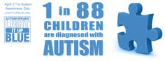 Light It Up Blue for Autism | ... Facebook Cover Photo to promote Light It Up Blue and Autism Awareness