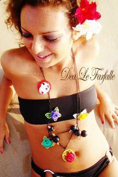 Necklace Dea Le Farfalle