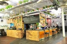 Blueberry Bar and Kitchen, Shoreditch. No minimum bar spend when hire on a sunday