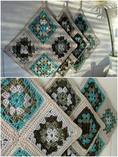 Ravelry: Tessas' Just potholders