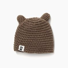 KrochetKids - the Teddy - Bears big and small need to keep their ears warm whether preparing for hibernation or emerging for the next Spring. 'the Teddy' lets our little cubs run wild and stay warm! SIZING: XS/S(ages 20 inch circumference M/L (ages 2 Baby Decor, Kids Decor, Kids Fans, Knit Edge, Ear Warmers, Mini Me, Hats For Men, Stay Warm, Cute Kids