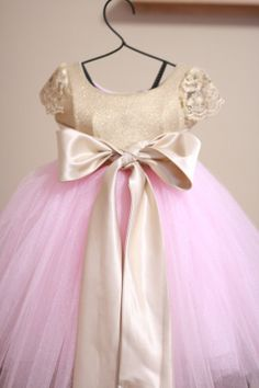 We love this little girls Fairytale Dress by Love Baby J Couture ...