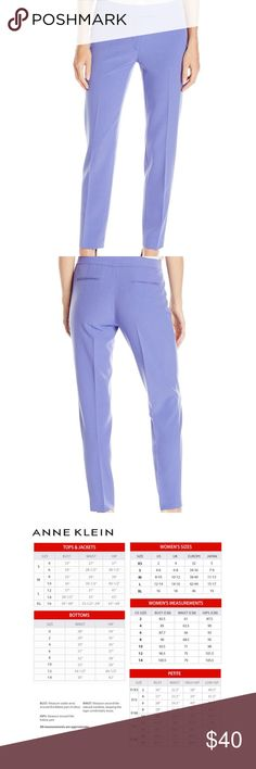 Anne Klein Chicory Purple Skinny Ankle Pants Size information: Size 10 (US)  Condition Notes: New with Tags  We will consider all reasonable offers. Thanks for shopping with us! Anne Klein Pants Ankle & Cropped