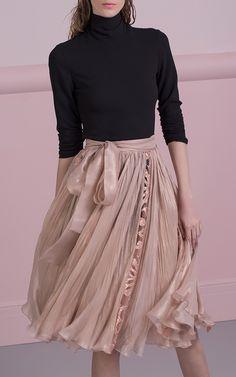 Abra Silk Skirt by MARIA LUCIA HOHAN for Preorder on Moda Operandi