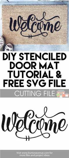 Free SVG cut files for Silhouette & Cricut