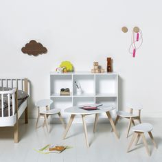 White Children's Bed by Oliver Furniture