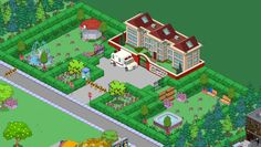 Photo: Uploaded from the Photobucket iPhone App. This Photo was uploaded by Springfield Tapped Out, The Simpsons Game, Mansions, Games, Design Ideas, Terraria, Flower Doodles, Minecraft, Layout