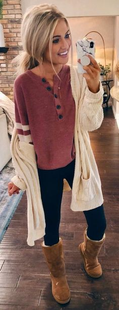 Casual Engagement Party Outfits For Bride minus Womens Clothes Online Canada lest Cute Casual Outfit Ideas Legging Outfits, Outfits Niños, Casual Outfits, Fashion Outfits, Fashion Clothes, Party Outfits, Fashion Boots, Look Fashion, Trendy Fashion