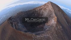 Mt.Canlaon,north-central portion of the island of Negros, Philippines