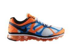 Nike Air Max 2012 White/Black-Bright Mango-Bright Blue. 그나마 요건 남성용