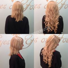 Individual keratin bond hair extensions to add length and volume! Book online 24/7 at www.EyesOnYouTampa.com or call (813)434-0234