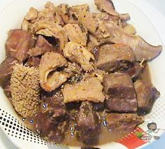 how to cook cow foot the nigerian way