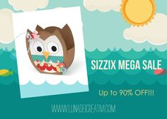 Sizzix SUMMER Mega Sale 2015