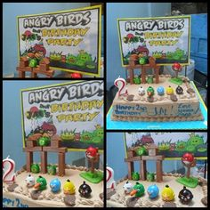 Has some great Angry Bird birthday party ideas