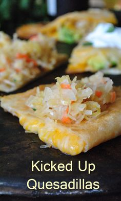 Add some zing to your favorite quesadillas with this surprising ingredient! #quesadillas