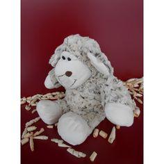 Samtweiches, flauschiges Kuschelschaf mit herausnehmbarem Innenbauch (Inlett) gefüllt mit duftenden Zirbenspänen Teddy Bear, Toys, Animals, Sheep, Cuddling, Linen Fabric, Kids, Activity Toys, Animales