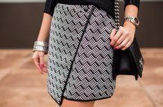 3 maneiras de usar a saia envelope - Vivo Mais Saudável