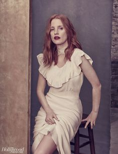 Jessica Chastain photographed for The Hollywood Reporter (May Jessica Chastain, Perfect Redhead, Red Hair Inspiration, Actress Jessica, The Hollywood Reporter, English Actresses, Charlize Theron, Most Beautiful Women, Beautiful Celebrities