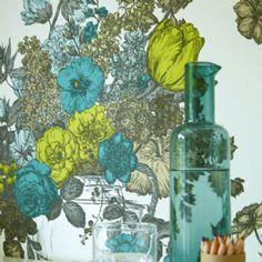 Floribunda Chartreuse Wallpaper