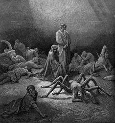 Arachne, Illustrated by Gustave Dore