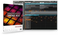 Vintage Heat v1.1.0 WiN MAC Team R2R | 03 Dec 2015 | 659 MB MASCHiNE EXPANSiON VINTAGE HEAT provides a warm and meaty sound character based on samples fr
