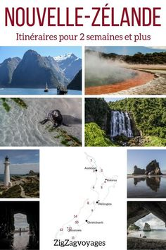 New Zealand South Island itinerary - options 10 days, 2 weeks) - New Zealand Travel Guide – South Island itineraries for 7 days, 10 days or 2 weeks Road Trip New Zealand, New Zealand Itinerary, New Zealand Travel Guide, Auckland, Tasman National Park, Bay Of Islands, New Zealand South Island, Photos Voyages, Travel Guides