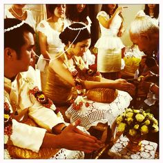 Thai-Hochzeitsfeier