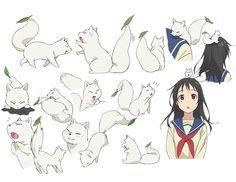 Tags: Anime, Fox, Inari Konkon Koi Iroha, Fushimi Inari, Kon (Inari Konkon Koi Iroha), Production IMS