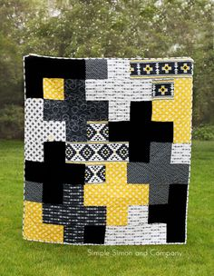 Plus Quilt Pattern Release: We are happy to release this fun quilt pattern that is perfect for beginners and makes a quick sew for those more experienced!