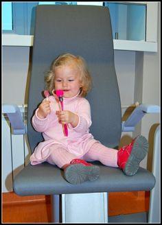 Pacjentka Basia :) Jak widać wizyta u okulisty może być fajną zabawą :)