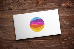Color Wave Logo by Michael Rayback on @creativemarket