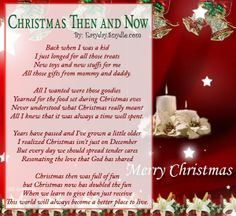 Christmas Poems 2017 | Poem and Holidays
