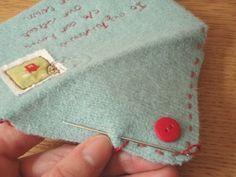 Sew Crafty Valentine | papernstitch