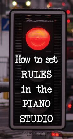 What to do when your piano students keep saying NO to your directions http://colourfulkeys.ie/6-practical-solutions-for-misbehaving-or-defiant-piano-students/