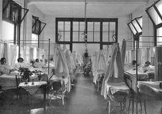 Sint Franciscus Gasthuis - ziekenhuis Rotterdam - Kraamzaal 1925