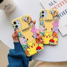 Kawaii Pokemon Phone Case for iphone 6/6s/6plus/6splus/7/7plus/8/8plus/X/XS/XS Max/11/11pro/11pro Max PN2109