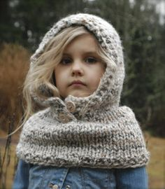 Ravelry: Channel Cowl pattern by Heidi May Knitted Hats Kids, Knitting For Kids, Knitting Projects, Baby Knitting, Knitting Patterns, Crochet Patterns, Hat Patterns, Diy Tricot Crochet, Crochet Baby