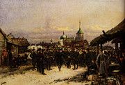 """New artwork for sale! - """" Deataille Edouard Chorus Of The Fourth Infantry Battalion At Tsarkoe Selo by Jean Baptiste Edouard Detaille """" - http://ift.tt/2qvvT55"""