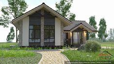 Маленькая баня. Проект в 3д визуализации 3d Visualization, Design Case, House Plans, Arch, Shed, Outdoor Structures, House Design, Cabin, How To Plan