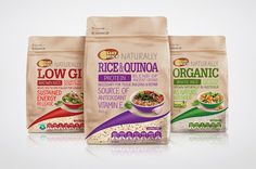 SunRice Health & Wellbeing Range on Packaging of the World - Creative Package Design Gallery