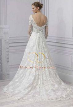 28 Awesome bateau wedding dress sleeves images