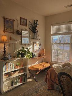 Room Ideas Bedroom, Bedroom Decor, Aesthetic Room Decor, Cozy Room, Dream Rooms, My New Room, House Rooms, Room Inspiration, Decoration