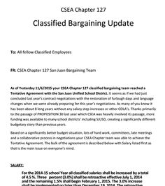 Extra! Extra! Read all about it! CSEA bargaining update... - Outlook Web Access Light