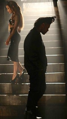 Ariana Grande & the Weeknd Shoot Love Me Harder Video | Mikey Lately Show