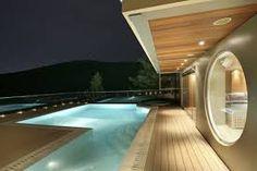 floor terrace pool lighting - Buscar con Google