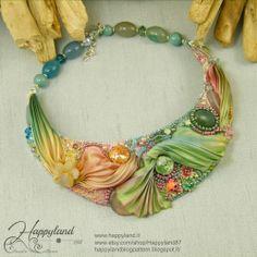 Le gioie di Happyland: Secret Garden #shibori #beads
